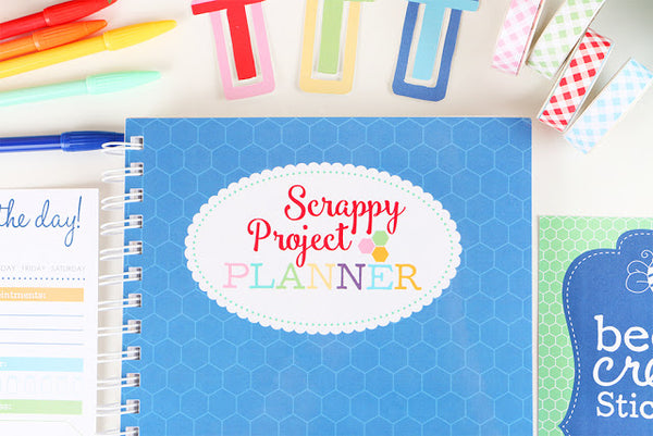 Scrappy Project Planner & Quilt Pattern Book by Lori Holt