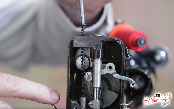 Presser Foot Pressure Tutorial on the Singer Featherweight 221 222