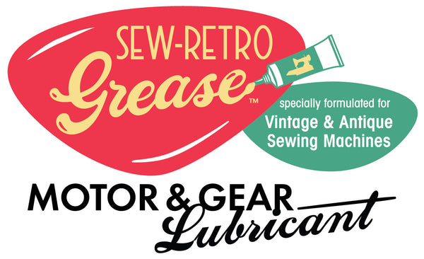 SEW-RETRO Grease Motor & Gear Lubricant for the Singer Featherweight 221 and 222