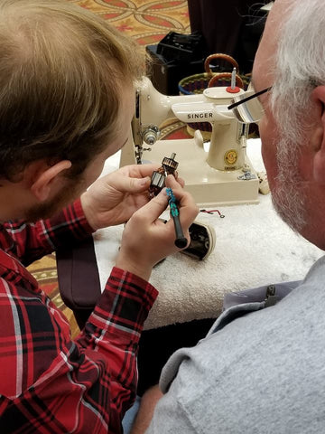 Singer Featherweight Maintenance Workshop, Advanced