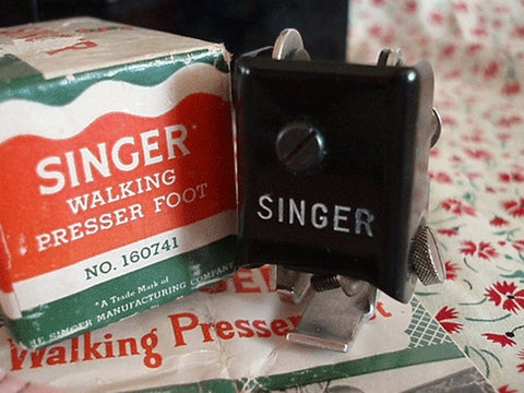 Singer Featherweight 221 The Penguin Walking Foot The Singer