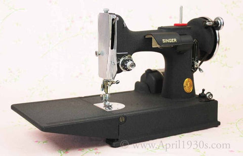 Singer Featherweight 40 Wrinkle Crinkle The Singer Magnificent 1947 Singer Featherweight Sewing Machine
