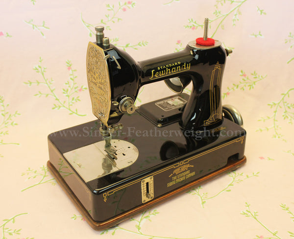 The Standard Sewhandy General Electric Early Featherweight Magnificent Standard Sewing Machine