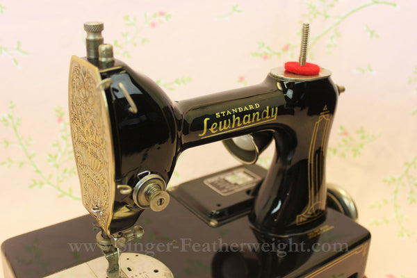 Standard Sewhandy Sewing Machine - Black