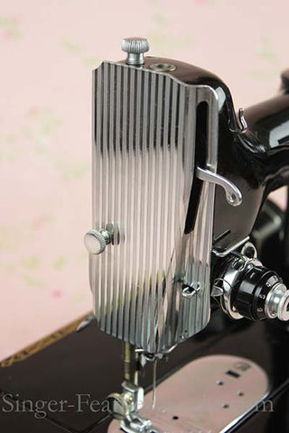 Singer Featherweight 221 Striated Faceplate