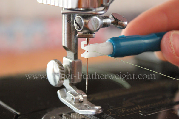 Super Easy Machine Needle Threader for the Singer Featherweight