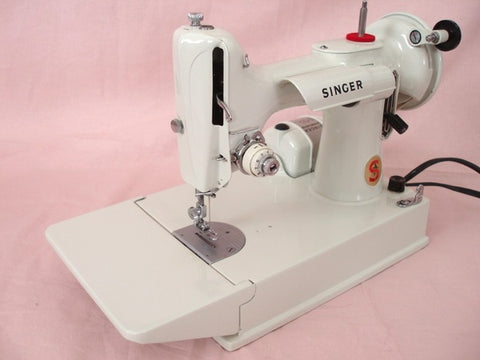 Singer Featherweight 40 White 40K The Singer Featherweight Shop New White Sewing Machine Models