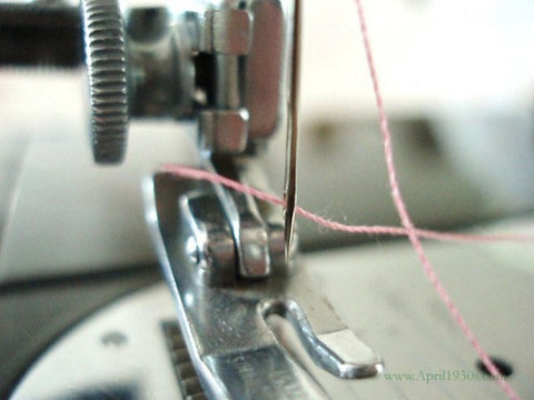 Singer Featherweight 40 Proper Threading StepbyStep The Singer New How To Tread A Sewing Machine