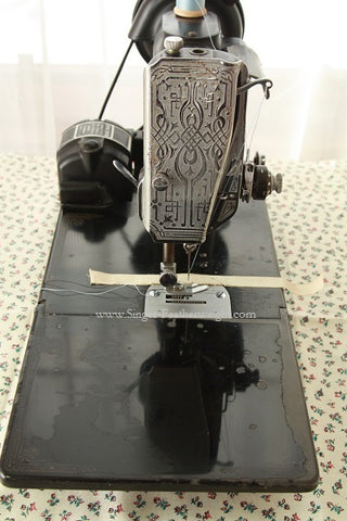 "Singer Featherweight 221 Sewing Machine - ""Adele"" Well-Used Machine"
