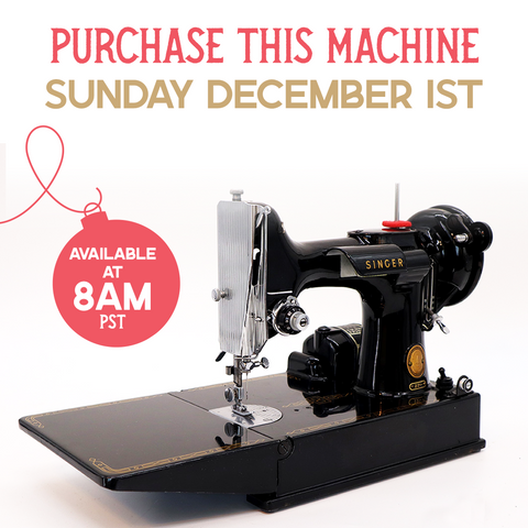 Singer Featherweight Giveaway
