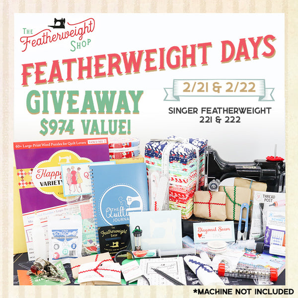 Featherweight Days Giveaway