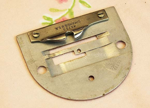 Singer Featherweight 221 Early Throat Plate
