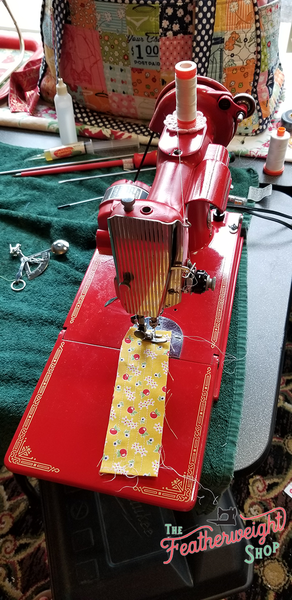 Singer Featherweight Maintenance & Lori Holt Retreat, McCall, Idaho 2019