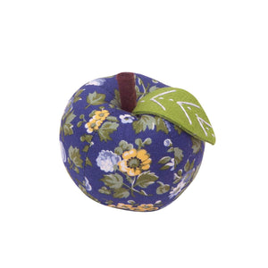 Apple Pin Cushion by Liberty of London Quilter's Cotton Fabric - WILD CHERRY