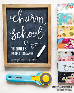 PATTERN BOOK, Charm School - 18 Quilts from 5