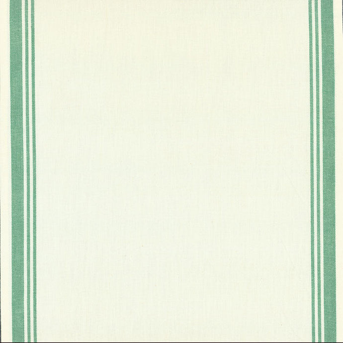 Fabric, 16-Inch Toweling by MODA - GREEN BORDER (by the yard)