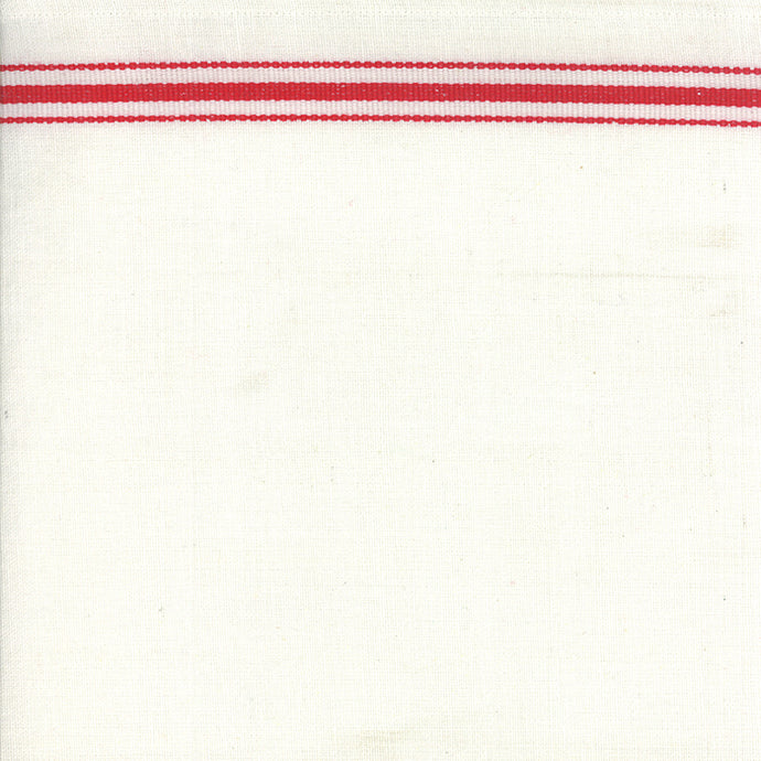 Fabric, 16-Inch Toweling by MODA - RED BORDER (by the yard)