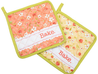 Load image into Gallery viewer, Set of 2 Pot Holders by Fig Tree & Co -  Chantilly