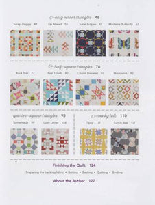 "PATTERN BOOK, Charm School - 18 Quilts from 5"" Squares by Vanessa Goertzen"