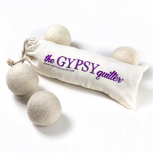 The Gypsy Quilter Dryer Balls - 4 Pack