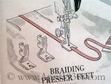 Braiding Presser Foot