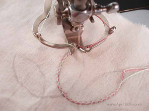 Two Thread Embroidery Attachment, Singer (Vintage Original)