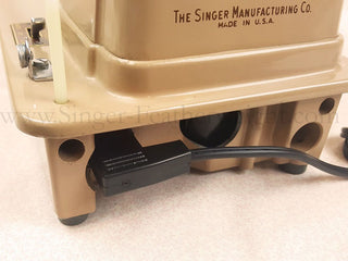 Load image into Gallery viewer, Cord Replacement, Foot Controller CORD / ELECTRIC WIRING for Singer 301, 401, 403, 404