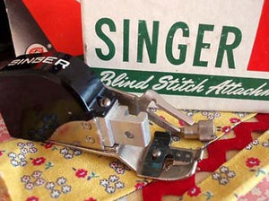 Blind Stitch Attachment, Singer (Vintage Original)