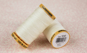 Gutermann Thread 30wt Cotton - 250 Meter Spool