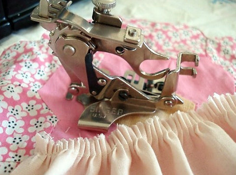 Ruffler Gathering Attachment, Vintage Singer