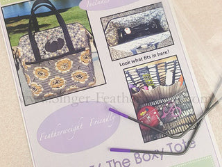 "Load image into Gallery viewer, PATTERN, The ""Featherweight"" Boxy Tote"