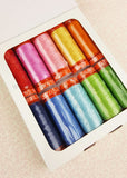 Aurifil Thread 50wt Cotton, 10 Color SET - Lori Holt Happy Colors