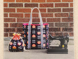 "Load image into Gallery viewer, PATTERN, Sew Portable ""Featherweight"" Travel Set -- (Printed Pattern)"