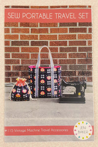 "PATTERN, Sew Portable ""Featherweight"" Travel Set -- (Printed Pattern)"