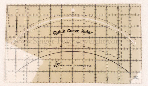 "QCR Quick CURVE Ruler 7"" x 12"""