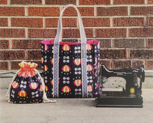 PATTERN, SEW PORTABLE Featherweight Travel Set -- (Printed Pattern)