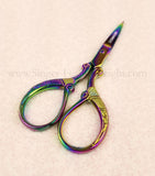 Scissors, Classy Sewing Embroidery Scissors - Titanium Oxide Finish