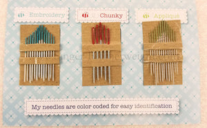 Nifty Needles, Color-Coded - By Lori Holt of Bee in My Bonnet