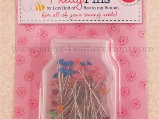 Load image into Gallery viewer, Pretty Sewing Pins, By Lori Holt - 100 Count