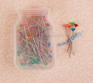 Pretty Sewing Pins, By Lori Holt - 100 Count