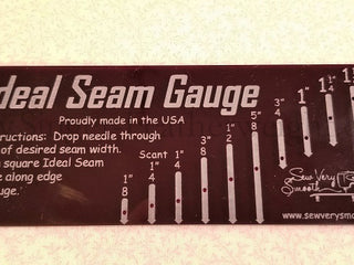 Load image into Gallery viewer, Ideal Seam Gauge