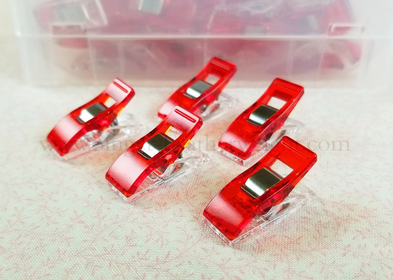 Wonder Clips, Pack of 10 - RED
