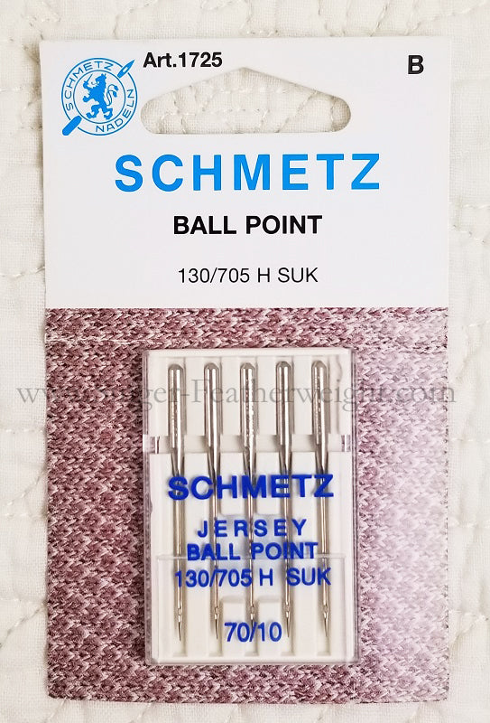 Schmetz Sewing Needles Ball Point, 5pk