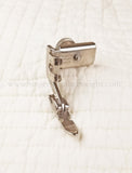 Zipper Cording Foot, Narrow - SLANT Shank (Vintage Singer)