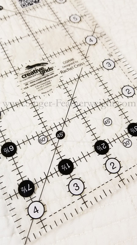 Cutting Ruler, CREATIVE GRIDS 4 1/2