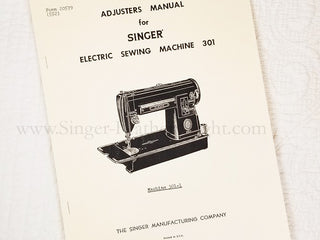 Load image into Gallery viewer, Service and Adjusters Manual for Singer 301 301A, Facsimile
