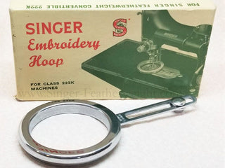 Load image into Gallery viewer, Embroidery Hoop, Singer Featherweight 222 - Vintage