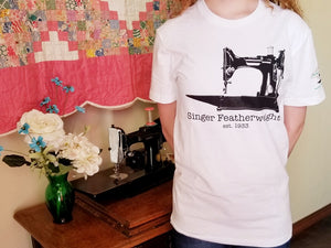 T-Shirt, Short Sleeve - Singer Featherweight est. 1933