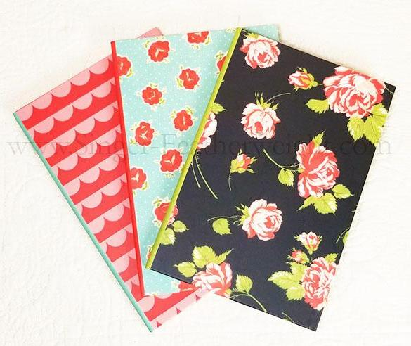 Quilt Journal (SET of 3)