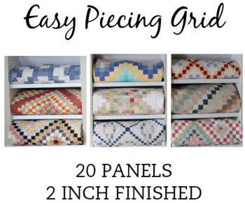 Easy Piecing Grid, 20 Panels 2